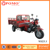 Chongqing Popular High Quality Strong Air Cooled Lifan Engine 250CC Cargo Tricycle With Passenger Seat