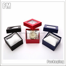 High end custom made paper packaging single watch box