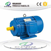 GPHQ wholesale Y cast iron body 100% copper wire and output power electric motor 20kw