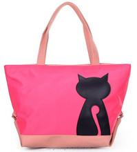 Korean style animal ladies hand bags made of nylon