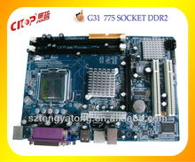 2013 HOT selling Branded G31 ATX computer motherboard ddr3 with LGA 775 motherboard