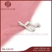 RENFOOK 2014 fashion jewelry sets curve tube with cz setting spacer tube FOR DIY