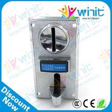 De promoción de la cpu electrónico de múltiples mecanismo de la moneda / coin validator / coin mech de piezas de repuesto para el reloj kiosco