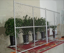 American 6ftx12ft temporary chain link fence fabric(Factory&ISO9001)