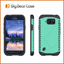 Factory design mobile phone back cover for samsung galaxy s6 active
