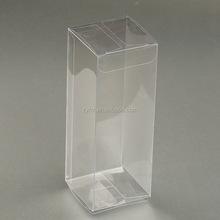 Cheap transparent clear plastic foldable pp pvc pet packaging boxes wholesale
