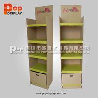 Customized Cardboard / Corrugated Floor Display Stand/Rack Display Boxes