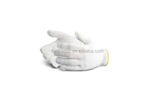 2014 best selling 7gauge 10 gauge oil field work glove 100% cotton glove oil resistant safety glove