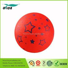 Custom kid toy rubber playground ball
