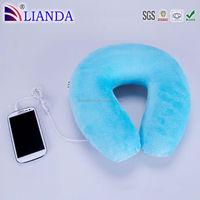 New product mini bluetooth speaker,helmet bluetooth,travel neck pillow Custom Pillow