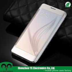auto sleep flip smart case cover for samsung galaxy s6 edge plus