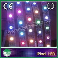 High brightness color changing flexible led pixel strip ws2812b smd5050 CE RoHs