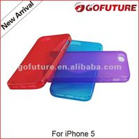 for iPhone 5 TPU customized mobile phone case