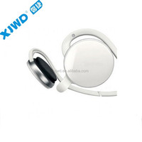 Newest bluetooth headset necklace stero music play back hands free and track control