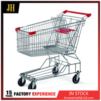 Hand Metal Supermarket Shopping Trolley