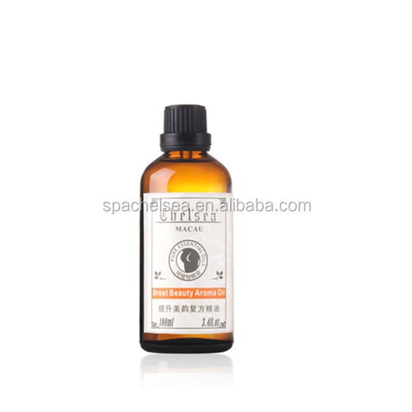 Naturel usine prix meilleur qualité l'amélioration Du Sein huile de massage