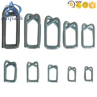 High Quality Metal parkerising Wire curved side release buckles of size 19*4.0mm