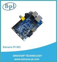 2015 Lowest price ARM Cortex-A7 1GB Banana Pi single board computer compatible with Rasperry Pi