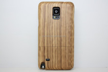 For Samsung Galaxy Note 4 N9100 Bamboo Wooden Walnut Sapele Zebra Wood Case