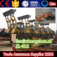 ZSZG wheeled loader front end loader ZL12f for sale