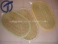100% natural seagrass handmade floor mat