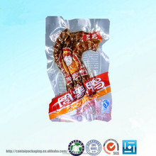 reusable clear food vacuum plastic packaging bags for hot spicy food