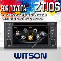 WITSON CAR AUDIO SYSTEM FOR TOYOTA ZTIOS 2013 WITH DVR SUPPORT A8 DUAL CORE CHIPSET WIFI 3G APE MUSIC BACK VIEW