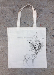 Hot style factory cheap canvas tote bags