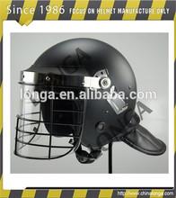 Motín casco de policía usado en militares y de policía