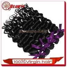 Tangle free no shed hair, virgin real cheap brazilian knot hair extension