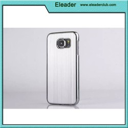 Chrome Hard Back Cover Case for galaxy s6, for samsung galaxy s6 aluminum metal case