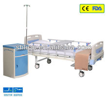 Two Functions Manual Hospital Bed Hospital Healing Beds
