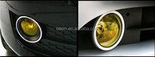 Ceein automobile decoration wrapping car headlight eyelashes with diamond