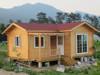 K/D design living log wooden house