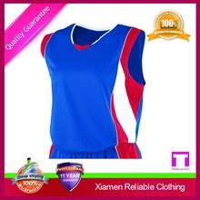 Cheap plain basketball clothing from China factory