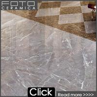 Polished sliver tiles marble porcelain flooring living room tile