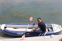 Inflatable 3 person fishing kayak for sale!