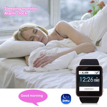 Skin friendly silicone slap heart rate watch with GPS