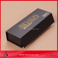 Sinicline factory price custom gold logo printed gift box for wine glasses