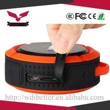 2015 Hot Sell Protable Home Design Waterproof Speaker Wireless Bluetooth Handsfree Mic Suction Speaker Shower Water Speaker