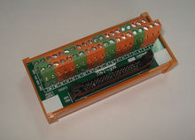 Módulos de módulos de salida de relé de entrada Delgado PLC, cable de E / S