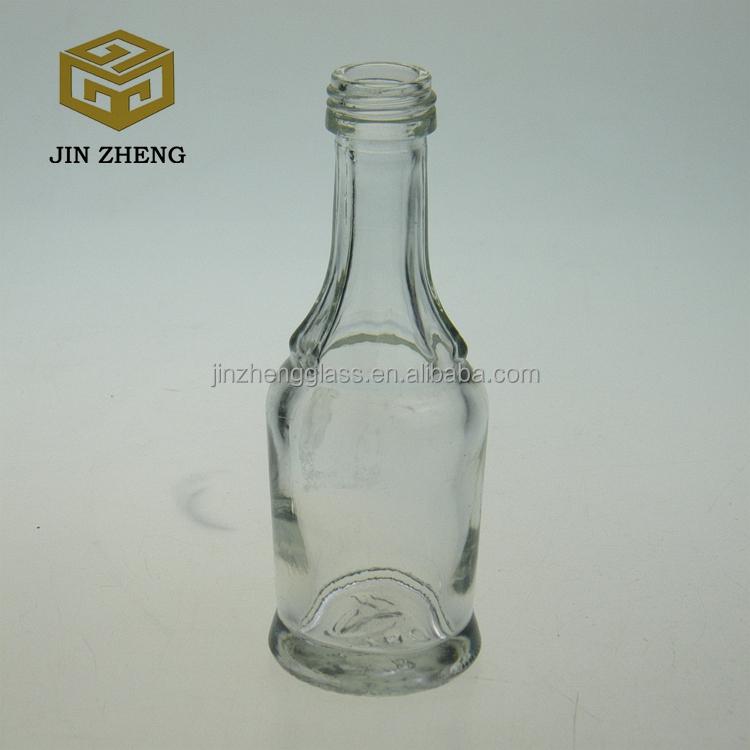 Wholesale mini 50ml empty glass wine bottles cheap buy for Empty mini plastic wine bottles