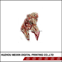 100% satin silk scarf for new design