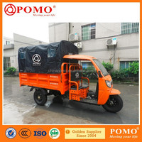 Chongqing Popular Heavy Load Powerful Semi-Closed Water Proof 300CC Water Cooled Adult Tricycle For Cargo