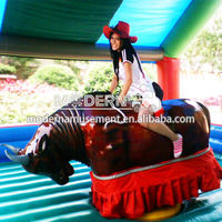 hot sale inflatable mechanical bull ride for sale