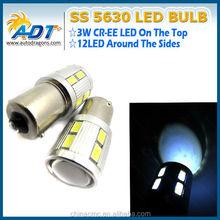 Hot Deals 5630 LED bulb Tail Light Turn Signal Backup Reverse light, High Lumen 1156 ba15s bau15s 12SMD LED Bulb Auto Parts