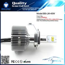 H3 LED 3W Car Front Head Fog Light Headlight Strobe Flash Lamp Bulb White High BB-4500LM