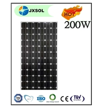 200 watt A grade mono solar panel manufacturer price per watt solar panels cheap solar panels China