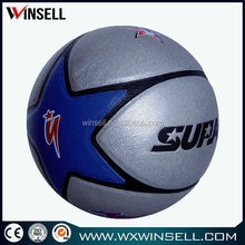chinese promotional items pvc/pu/tpu bottom price rubber basketball colorful