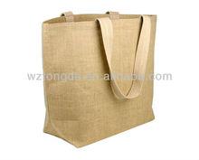 hot sale fashion promotional jute bags wholesale(WZ2473)
